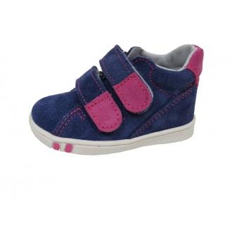 Dětské celoroční boty Jonap 015/S Modro/Růž