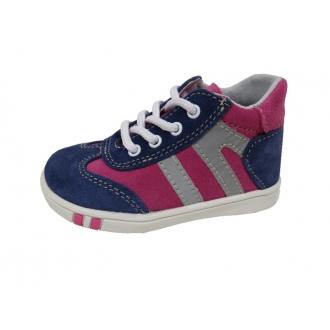 Dětské celoroční boty Jonap 014 Modro/Růž