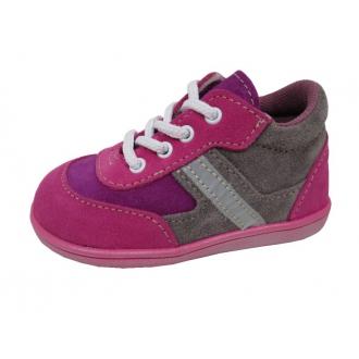 Dětské celoroční boty Jonap 051 Light Šedo/Růž