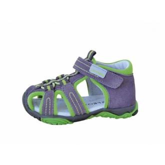 Dětské sandály Protetika SID green