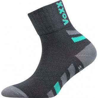 Dětské ponožky Voxx Maik tm.šedá