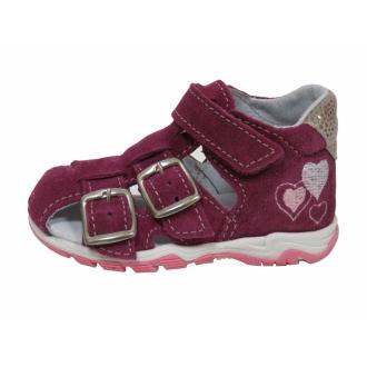 Dětské sandály Jonap 013S Vínová