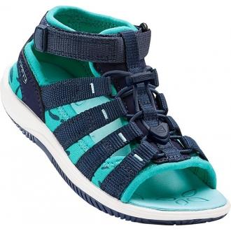 Dětské sandály Keen HADLEY Dress blues/Viridia