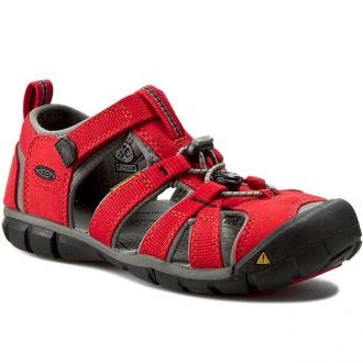 Dětské sandály Keen Seacamp Racing red/gargoyle
