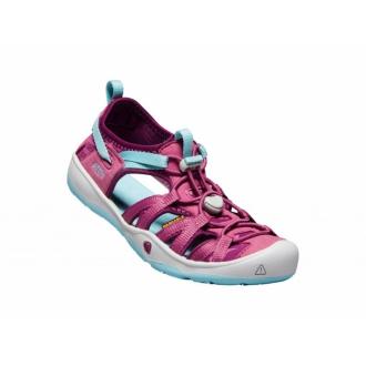 Dětské sandály Keen Red violet/pastel turquoise|