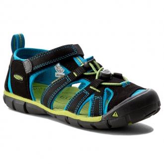 Dětské sandály Keen SEACAMP Black/Blue danube