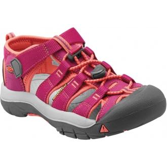 Dětské sandály Keen NEWPORT Very berry/Fusion coral