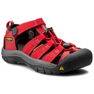 Dětské sandály Keen NEWPORT Ribbon red/Gargoyle