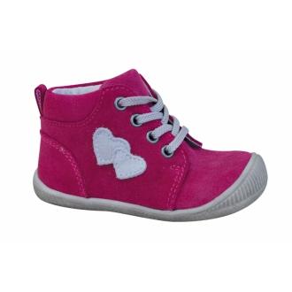 Dětské celoroční boty Protetika Baby fuxia