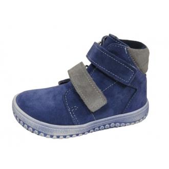 Dětské celoroční boty Jonap B2 Modro/Šed