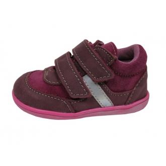 Dětské celoroční boty Jonap 051MV Vínová
