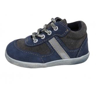 Dětské celoroční boty Jonap 051S Mod Šed