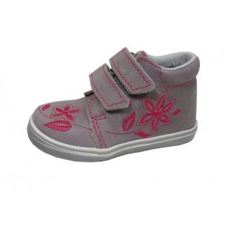 Dětské celoroční boty Jonap 022MV Růž-kytka
