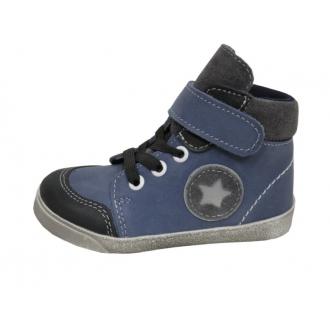 Dětské celoroční boty 050MV MOD HVĚZ