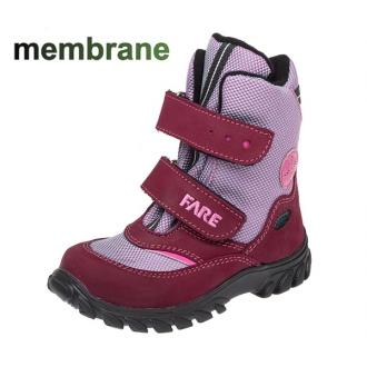 Dětské zimní membránové boty Fare 848192