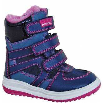 Dětské zimní boty Protetika Ebony navy