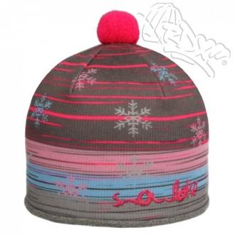 Dětská zimní čepice 3684 dívčí|3
