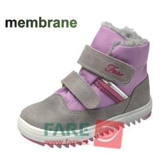Dětské zimní membránové boty Fare 845151