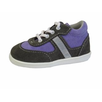 Dětské celoroční boty Jonap 051/S Šedo/Fia
