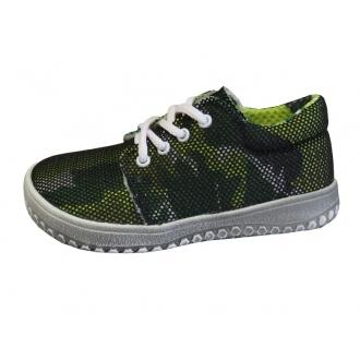 Děštské barefootové boty Jonap B7 Zelená