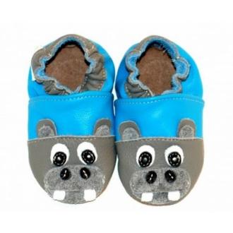 Dětské capáčky Tuptusie Modrá Hroch