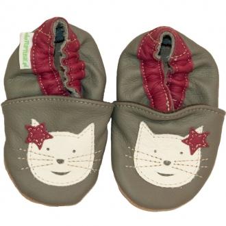 Dětské capáčky Tuptusie Kočka šedá