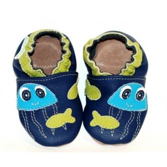 Dětské capáčkyTuptusie Medúza modrá