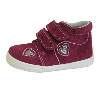 Dětské celoroční boty Jonap 022SV Srdce