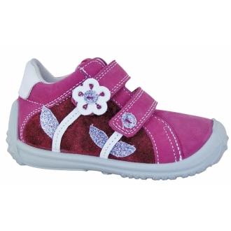 Dětské celoroční boty Samanta purple