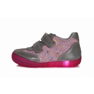 Dětské celoroční blikací boty DDStep 050-4AM