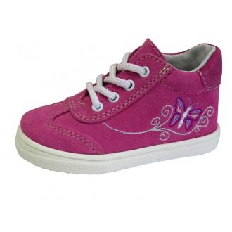 Dětské celoroční boty Jonap 011S Růž/Motýl