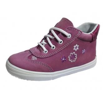 Dětské celoroční boty Jonap 011M Růž/kytka