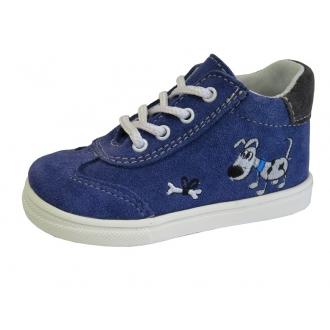 Dětské celoroční boty Jonap 011S Modrý pes