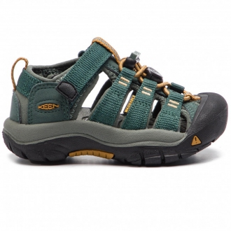 Dětské sandály Keen Newport Green Gables/Wood thrush