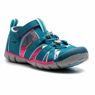 Dětské sandály Keen Seacamp Deep lagoon/bright pink