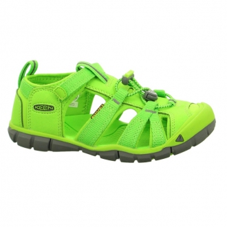 Dětské sandály Keen Seacamp Vibrant green