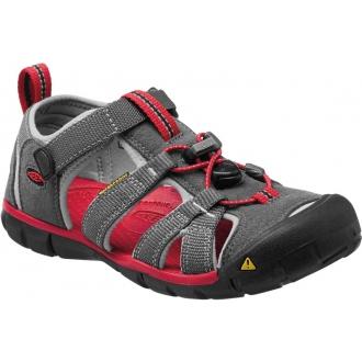 Dětské sandály Keen SEACAMP Magnet/Racing red