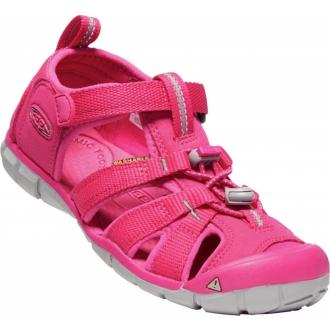 Dětské sandály Keen Seacamp Hot pink