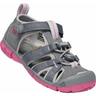 Dětské sandály Keen Seacamp Steel grey/rapture rose