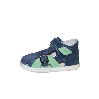 Dětské sandály Jonap 009S Modro/Zel