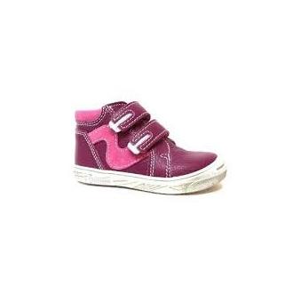 Dětské celoroční boty Boots4U T315V Bordo
