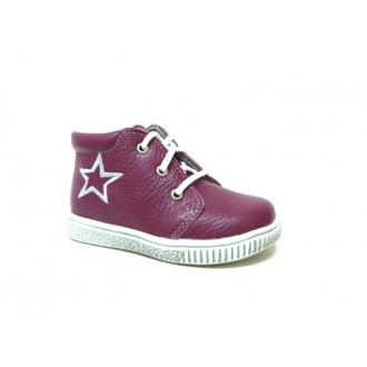 Dětské celoroční boty Boots4U T219 Bordo