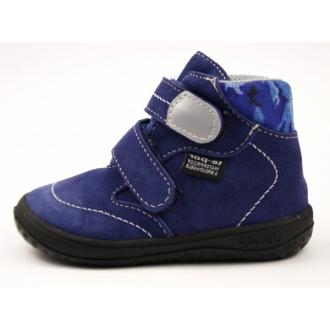 Dětské barefootové boty Jonap B3SV Modr Mask