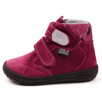 Dětské barefootové boty Jonap B3SV Vínová