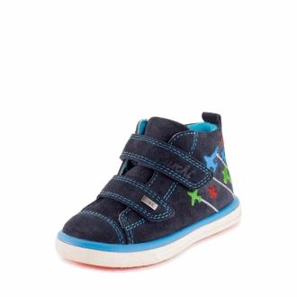 Dětské celoroční membránové boty SUEDE 33-13309-22