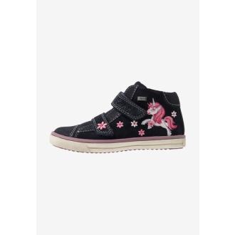 Dětské celoroční membránové boty SUEDE 33-13308-22
