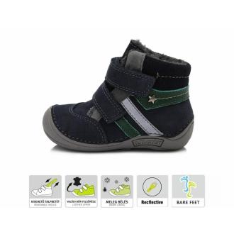 Dětské zimní barefoot boty DDStep 018-41