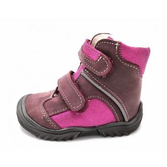 Dětské zimní boty Jonap 055MV Vínová