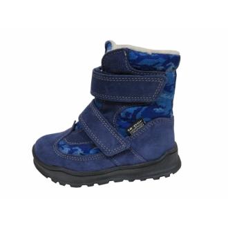 Dětské zimní membránové boty Jonap 024S Modrá mask