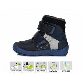 Dětské zimní barefootové boty DDStep 023-804M